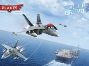 Disneys Planes Wallpaper Bravo Echo Widescreen